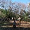 愛知県連盟70周年記念植樹(2020.2.9新城市吉川野営場)